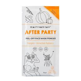 Masca pentu fata peel off pt stralucire, After Party, pt toate tipurile de ten, cu dovleac, Beauty Made Easy, 10 g