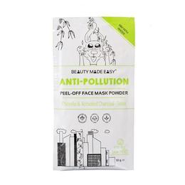 Masca pentru fata pell off anti-poluare, cu chlorella si carbune activ, Beauty Made Easy, 10 g