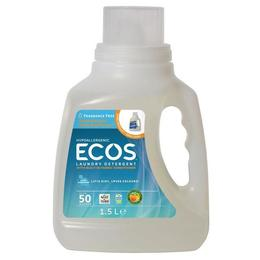 Detergent lichid super concentrat Fara miros, Earth Friendly Products ECOS 1500 ml