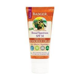 Crema protectie solara spf 30, cu mandarine si vanilie, pt. copii, Badger, 87 ml