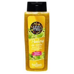 Peeling de Corp cu Banane si Agrise - Farmona Tutti Frutti Banana & Gooseberry Body Scrub, 100ml
