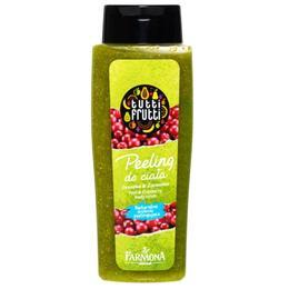 Gel de Dus Peeling cu Pere si Merisoare - Farmona Tutti Frutti Pear & Cranberry Body Scrub, 100ml