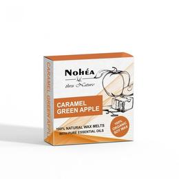 Pastile parfumate din ceara de soia,Caramel Green Apple, Nohea, 40g