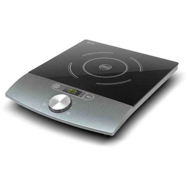 Plita cu inductie ECG IV 18, 1800 W, LCD, timer, 10 trepte de temperatura