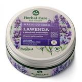 Unt Hidratant de Corp cu Lavanda si Lapte de Vanilie - Farmona Herbal Care Lavender with Vanilla Milk Salt Body Scrub, 200ml