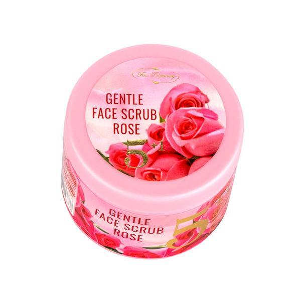 Scrub pentru fata 5 in 1 - Gentle Face Scrub Rose - Fine Perfumery, 100 ml imagine produs