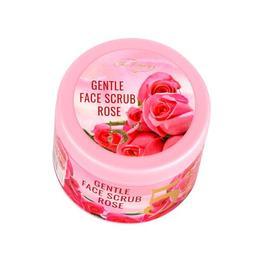 Scrub pentru fata 5 in 1 - Gentle Face Scrub Rose - Fine Perfumery, 100 ml