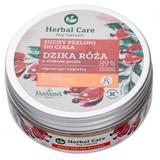 Exfoliant Uscat de Corp cu Trandafir Salbatic si Ulei de Perilla - Farmona Herbal Care Wild Rose with Perilla Oil Dry Body Scrub, 220g