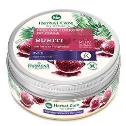 Exfoliant de Corp cu Zahar si Buriti - Farmona Herbal Care Buriti Sugar Body Scrub, 220g