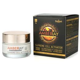 Crema Iluminatoare si Stimulatoare de Noapte - Farmona Amberray Supreme Cell Activator Cream, 50ml