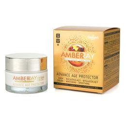 Crema Iluminatoare si de Netezire de Zi SPF 30 - Farmona Amberray Advance Age Protector Cream, 50ml