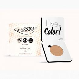 Fard pleoape mat Peach n.12 - PuroBio Cosmetics, 2.5 g