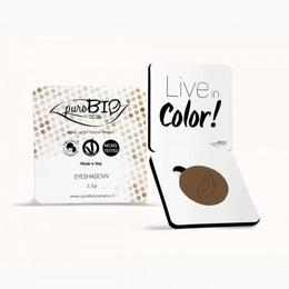Fard pleoape mat Cold Brown n.14 - PuroBio Cosmetics, 2.5 g