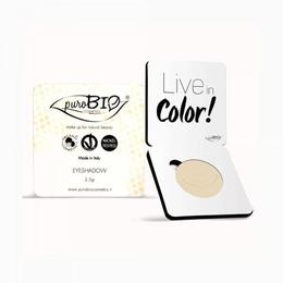 Fard pleoape mat Banana n.11 - PuroBio Cosmetics, 2.5 g
