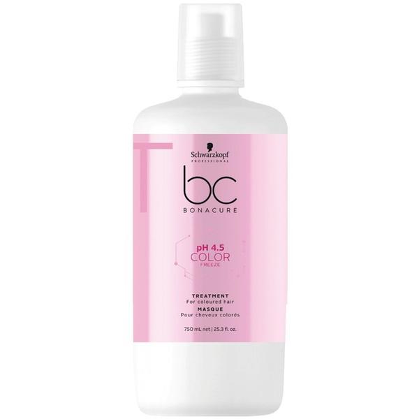 Masca pentru Par Vopsit - Schwarzkopf BC Bonacure pH 4.5 Color Freeze Treatment for Coloured Hair, 750ml imagine