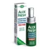 Spray de Gura Antibacterian ESI Aloe Fresh, 15ml