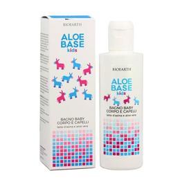 Sampon si gel de dus copii Aloebase - Bioearth, 250 ml