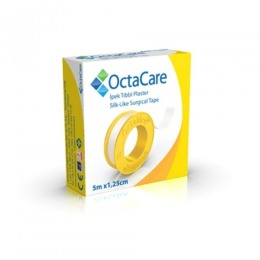 Imagine Banda Adeziva Suport Matase - Octamed Octacare Silk-like Surgical Tape, 1.25cm X 5m