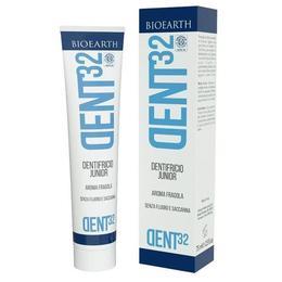 Pasta de dinti bio pentru copii DENT32 Bioearth, 75 ml
