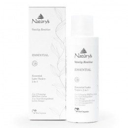 Lapte Demachiant/Lotiune Tonica 2 in 1 - Naturys Vanity Routine Essential 2 in 1 Cleansing Milk/Tonic Lotion, 200ml