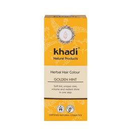 Vopsea de par organica Henna Golden culoare Blond - Khadi, 100g