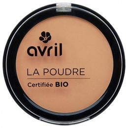 Pudra compacta bio Golden Avril, 7 g
