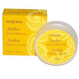Parfum solid Ambra - Maroma, 8 g