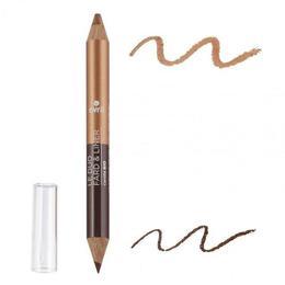 Creion ochi DUO Maro Inchis si Bronz - Avril