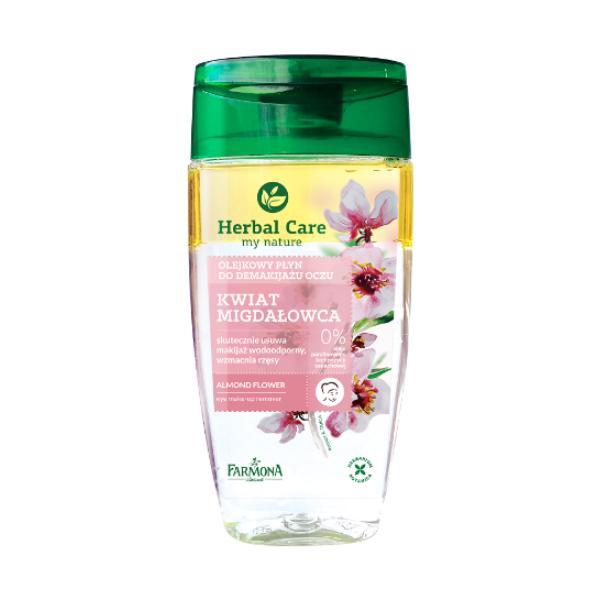Demachiant Bifazic pentru Ochi cu Floare de Migdal - Farmona Herbal Care Almond Flower Eye Make-Up Remover, 125ml imagine produs