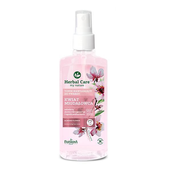 Lotiune Tonica Hidratanta pentru Fata cu Floare de Migdal - Farmona Herbal Care Almond Flower Moisturizing Face Toner, 200ml imagine produs