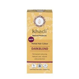 Vopsea de par organica Khadi culoare Blond Inchis, 100 gr