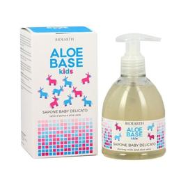 Sapun copii cu lapte de magarita Aloebase - Bioearth, 250 ml