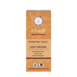 Vopsea de par organica Henna culoare Saten Deschis - Khadi 100 g