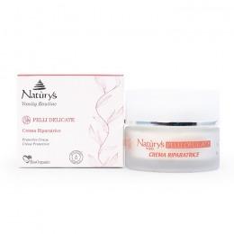 Crema de Protectie pentru Piele Sensibila - Naturys Vanity Routine Pelli Delicate Protective Cream, 50ml