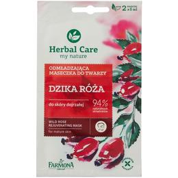 Masca Rejuvenanta cu Trandafir Salbatic - Farmona Herbal Care Wild Rose Rejuvenating Mask, 2 x 5ml