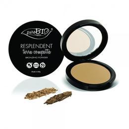 Pudra bronzanta mata 01 - PuroBio Cosmetics, 2.5 g