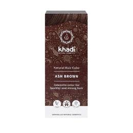 Vopsea de par organica Khadi, culoare Saten Cenusiu, 100 g