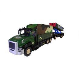 Jucarie camion de armata cu remorca, Force Super Truck varsta 6 ani +, multicolora - Disney