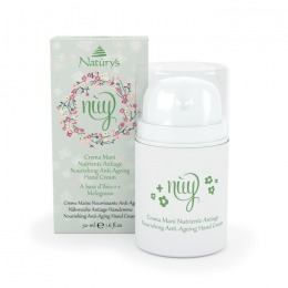 Crema de Maini Anti-Imbatranire - Naturys Nuy Nourishing Anti-Ageing Hand Cream, 50ml