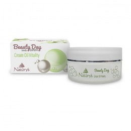 Crema-Ulei pentru Corp - Naturys Beauty Day Body Expert Cream Oil Vitality, 200ml