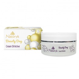 Crema-Ulei Anticelulitica Activa - Naturys Beauty Day Cream Oil Active, 200ml
