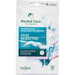 Masca Hidratanta cu Alge Albastre - Farmona Herbal Care Blue Algae Face Mask, 2 x 5ml