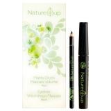 Set Machiaj Creion de Ochi + Rimel pentru Volum - Nature Up Make-up Kit Eyeliner + Voluminous Mascara (1.3ml + 9ml)