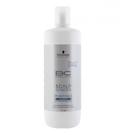 Sampon pentru Scalp Normal sau Gras - Schwarzkopf BC Scalp Genesis Purifying Shampoo, 1000ml
