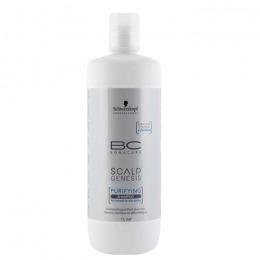 Sampon pentru Scalp Normal sau Gras – Schwarzkopf BC Scalp Genesis Purifying Shampoo, 1000ml de la esteto.ro