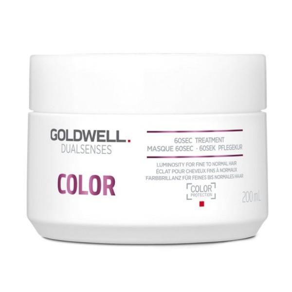 Masca pentru Par Vopsit, Fin si Normal - Goldwell Dualsenses Color 60sec Treatment 200ml poza