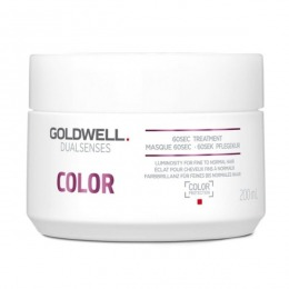 Masca pentru Par Vopsit, Fin si Normal - Goldwell Dualsenses Color 60sec Treatment 200ml