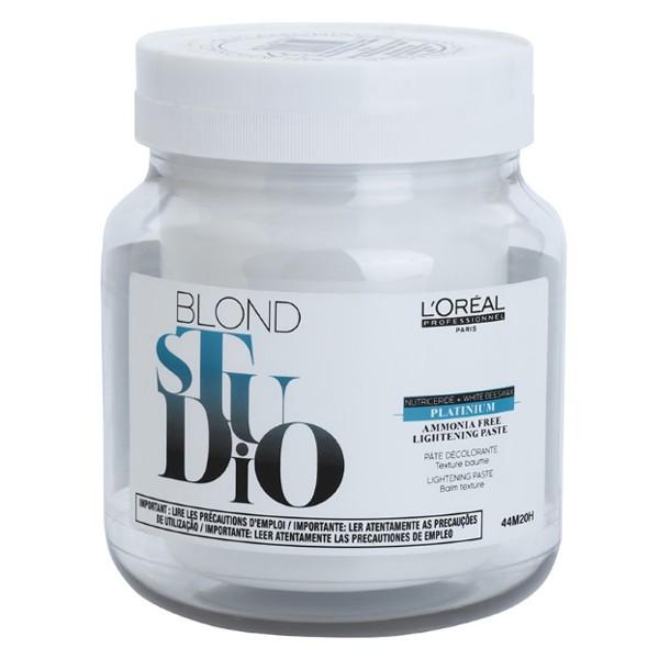 Pasta Decoloranta fara Amoniac - L'Oreal Professionnel Blond Studio Platinium Ammonia Free Lightening Paste 500ml poza