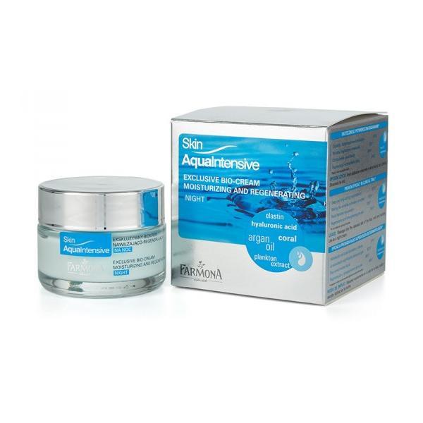 Biocrema de Lux pentru Noapte - Farmona Skin Aqua Intensive Exclusive Bio-Cream Night, 50ml imagine produs