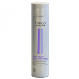 Sampon pentru Par Blond Rece sau Gri - Londa Professional Color Revive Blonde and Silver Shampoo, 250ml